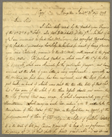 Kingston, Jamaica, 20 April 1798. ALS to Milligan and Mitchell, London...