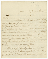 "Dominica, 10 June 1788. ALS to Evan Nepeat, ""Dr. Sir..."
