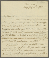 "Dominica, 29 July 1788. ALS to Evan Nepeat. ""My Dear Sir All here.."