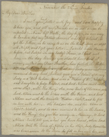 Letter, [18--] Nov. 24, London [to her brother, from Viscountess...]