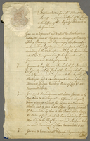 Instructions for Mr: Andrew Long--- Appointed Clerk of the Checque...