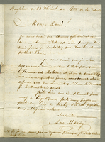 Basseterre, 14 May 1801. ALS to M. Dubouceaup