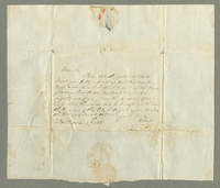 Philadelphia, 7 March 1801. ALS to Abraham Runnels and Son