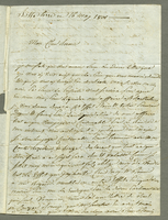 Basseterre, 16 May 1801. ALS to Y.F. Bernier