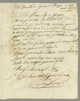 Basseterre, Guadeloupe, 16 May 1801. ALS to M. Gourdan
