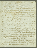 Point Pitre, 4 May 1801. ALS to John Claveau