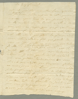 16 May 1801. ALS to M. Vitalis