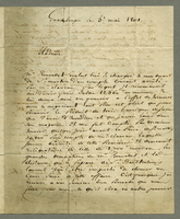 Guadeloupe, 5 May 1801. ALS to Mme. O'Reilly