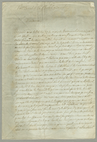 Petit Canal, 7 May 1801. ALS to Mme. O''Reilly