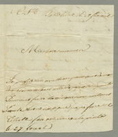 Basseterre, 19 May 1801. ALS to Jeanne Louise Bigard
