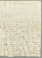 Basseterre, 9 May 1801. ALS to Mme. Jacques Balestier