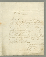 ALS to M. Trancart, Guadeloupe, May 1801