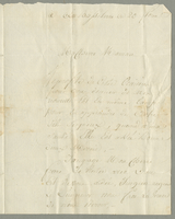 Basseterre, 11 May 1801. ALS to Mme. Forestier