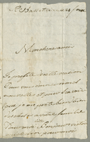 Basseterre, 12 May 1801. ALS to M. Gaza Cariyche