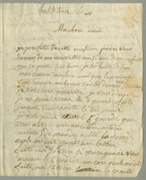 Basseterre [12 May 1801] ALS to Mme. Labethnicos