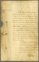 Jamaica, 8 Feb. 1800. Ms. Affidavit for William Ramsay