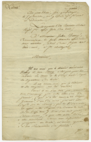 Guadeloupe, 25 Jan. 1801. Ms. Letter on printed form, signed