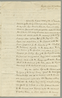Captain Bligh relating to Curacoa. (docket title)
