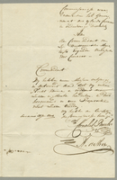 Original of Ansr. of Govr. of Curacoa to the Summons. (docket title)