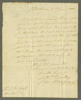 Chatham, 14 June 1805. ALS to the V. M. General