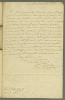 Winchelsea, 29 Sept. 1806. ALS to the Lr Major General