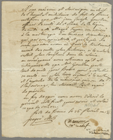 Attestation signed by the doctor and surgeon of the military. . .