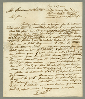 3 Islets, 10 July 1809. ALS to Henry Besson, 3p....