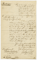 Lieut General Sir George Beckwith's Authority to draw Bills upon The Right Honble The Paymaster General to the Amount of £60,000 Sterling... (docket title)