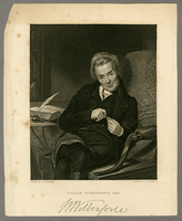 William Wilberforce, Esq. Painted by G. Richmond Engraved by J...