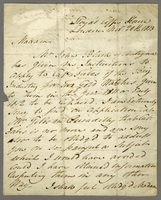 "Lloyd's Coffee House, London, 20 Nov. 1813. ALS to ""Mrs. Forbes..."