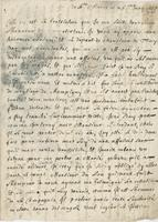 Letter to d'Herblay, Ste. Marie, 26 May 1665
