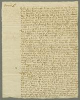 4 March and 6th May 1712,3 Copy of Letters from Col to Majr General Lambert (docket title).