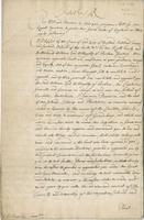 Ld: Willoughby's Warrt: passed here 24th Jany 1672 (docket title)