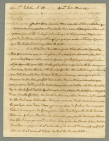 Bordeaux, 17 March 1817. ALS to Mme. Levassor