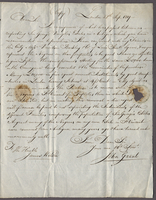 Grant, John, fl. 1819. London, 28 Sept. 1819. Ms. copy of letter