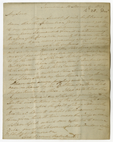 "Jamaica, 10 Nov. 1823.""My Lord Your Lordship will..."