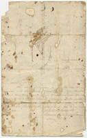 Billinghurst, Joseph, Crown and Colony Surveyor. [diagram of land in the Warrawarrou Valley of St. Vincent] May, 1813