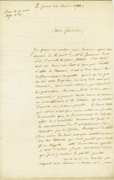 "La Guayre, 26 March 1824. ALS to Donzelot, ""Mon..."