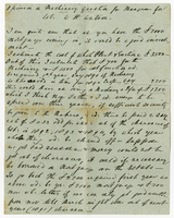"10 Nov. 1890. G. Laurie Pile to Col. W. H. Watson, ""Opinion..."