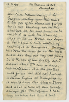 10 March 1894. Sherard H. Godman to Uncle William Henry