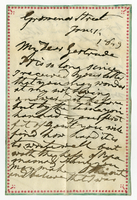 1 Jan. 1849. H. G. Cumming to Gertrude Weekes