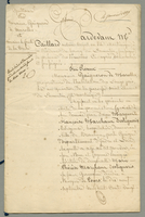 Quittance Pour Monsieur Gaigneron De Marolles et Monsieur le Comte De la Touche. (docket title, at head of 1st page)