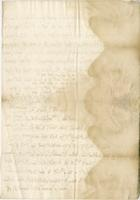 Latter to Blathwayt, 5:th Dec: 1682 From Mr. Witham 4 1/2 p cent (docket title)
