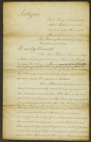 No. 3. Petition from 106 White Individuals to the Local Legislature against the Repeal of the White Servants' Act -- (docket title)