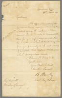 22 Nov. 1845 Petition against immigration from Gov't Office dated 13 Mar. 1845 (docket title).
