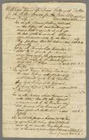 1838. Jo. Macfarlanes estimated amt of Taxes for 1839 (docket title).