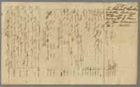 1839. The Colonial Secretary and Doctor Robinson statement of the amount of Taxes [?] Ordinances of October (docket title).