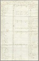 A List of Slaves, with their Ages, and Marriages, on the Red Gate..