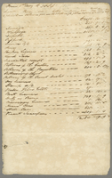Memorandum of quantity of produce Exported from 1 Jay to 30 Sept 1845 (docket title).