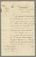 Octr 1845 Copy of Governor General Sir C: E: Grays Despatch to His Excellency Colonel Torrens on Subject of Tax Ordinance for 1846 (docket title).